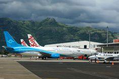 https://flic.kr/p/21WKave | Nauru Airlines B737-300 VH-YNU at the gate at NAN/NFFN | private King Air B300 DQ-LIH as well as a couple of Virgin Australia B738s at the gate at Nadi, Fiji