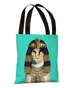 Take a look at this Cleo Tote Bag by OneBellaCasa on #zulily today!
