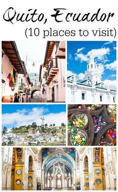 Going to Quito? Don't miss these beautiful stops in the Centro Historico. Few tourists choose to stay in this area, but it's well worth a visit!