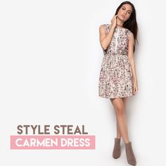 Carmen Dress is your must-have piece for a fun and flirty #ootd 👗  Available at: 1. Zalora.com.ph/CHELSEA 2. Robinsons Dept. Store 3. Landmark Dept. Store  #zaloraph #robinsonsdeptstore #shopping #fbloggers #fbloggersuk #philippines #dress #shopatchelsea