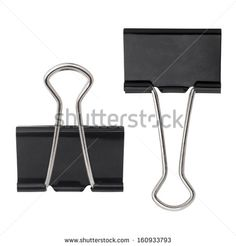 black paper clip isolated on white - stock photo Paper Clip Images, Art And Craft Images, Black Paper, Royalty Free Stock Photos, Arts And Crafts, Art And Craft, Art Crafts, Crafting