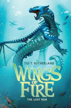 The WINGS OF FIRE saga continues with a thrilling underwater adventure -- and a mystery that will change everything!