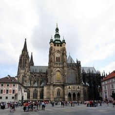 St vitus cathedral, P, Czech republic, Europe