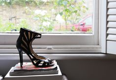 NEW IN // Vintage Jimmy Choo for H Leather Cage Heels