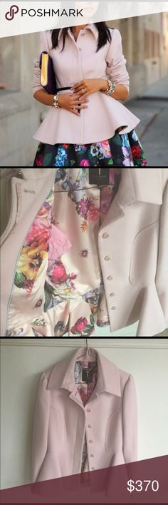 Ted Baker coat Selling this beautiful coat by Ted Baker. Was worn only a couple times. It's like new. Was also dry cleaned. Size Ted 2 but US 6. 70% wool, 20% polyamide and 10% cashmere. Ted Baker Jackets & Coats Trench Coats