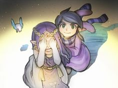 Hilda and Ravio - The Legend of Zelda: A Link Between Worlds
