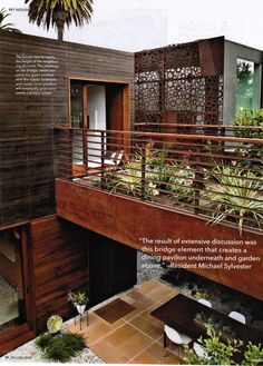 Dwell Magazine - Dec/Jan 2014 - Venice House Bridge