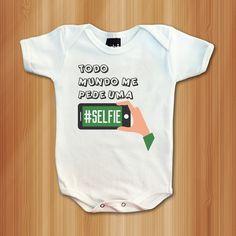 Body Selfie - Roupas De Bebês Divertidas e Engraçadas