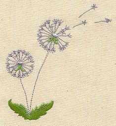 Dandelion Dream | Urban Threads: Unique and Awesome Embroidery Designs