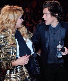 Harry and Paulina Rubio