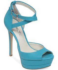 606d0248b277 BCBGeneration Vix Ankle Strap Platform Pumps Shoes - Pumps - Macy s