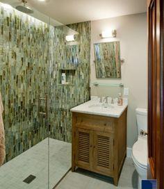 Green #Bathroom remodel ideas
