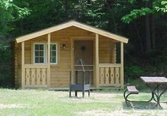 Bridgeman on the lake - cabins $50-$60 bring your own linens a full size bed and one set of bunk beds  Location:   5239 Lake St.  Bridgman, Michigan, 49106  cabin reservations, please email or call (269)465-5407.  read reviews to make sure not dangerous... looks cute and quaint.  Looks like the park is right on the lake  20 miles past our place