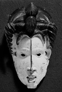 Mask: Female (Mmuo) 19th–20th century Geography: Nigeria Culture