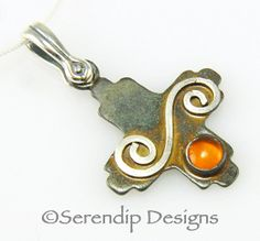 Zia New Mexico Sun Silver Patina Necklace by SerendipDesignsJewel, $43.00