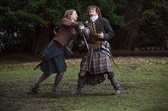 Outlander Season 01 Episode 10 Jamie Fraser, Claire Fraser, Diana Gabaldon Outlander Series, Outlander Book Series, Outlander Casting, Starz Series, James Fraser Outlander, Sam Heughan Outlander, Sonia Gomez