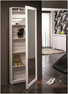 Mueble Auxiliar / Sideboard www. Bedroom Cupboard Designs, Bedroom Closet Design, Bedroom Furniture Design, Closet Designs, Home Furniture, Shoe Cabinet Design, Dressing Table Design, Dressing Table Mirror, Diy Home Decor