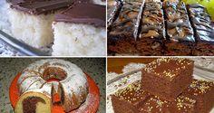 Kafíčkový dort s ořechovým těstem Czech Recipes, Russian Recipes, Eastern European Recipes, Doughnut, Sweet Recipes, Smoothies, Sweet Tooth, Muffin, Food And Drink