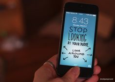 Funny iPhone wallpapers from Molly McLeod