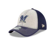 MLB Milwaukee Brewers Heathered NEO 39Thirty gorra elástica  Amazon.com.mx   Deportes 9a0e09e43e9