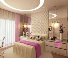 Beautiful Ideas for Super Chic Girls Rooms Bedroom Bed Design, Girl Bedroom Designs, Baby Bedroom, Modern Bedroom, Girls Bedroom, Bedroom Furniture, Bedroom Decor, Dream Rooms, Girl Room