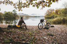 Bikepacking is where mountain biking meets lightweight camping; it was inspired… Uk Britain England, Mtb, Wimbledon Common, Wild Camp, Camping Uk, Richmond Park, Off Road Adventure, Mountain Biking, Kayaking