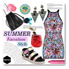 """""""Summer Vacation Style"""" by asteroid467 ❤ liked on Polyvore featuring NARS Cosmetics, tarte and Manic Panic"""