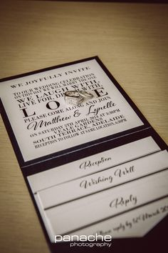Wedding Invitation - Weddings - Rings - Panache Photography - Adelaide - Inspiration - Reception - Adelaide Wedding Photography - Wedding Photography Adelaide - Adelaide Wedding Photographers - Panache Photography #weddinginspiration #adelaideweddingphotographers #weddingphotographyadelaide #weddingphotography #panachephotography