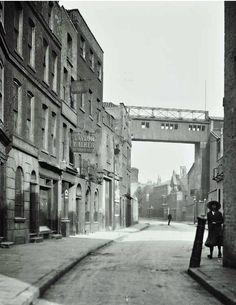 Narrow Street in 1920