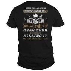Best tech - hvac mechanic - technician shirts-back Shirt