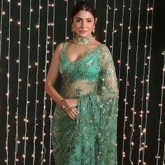 Designer Sarees Collection, Saree Collection, Bollywood Stars, Bollywood Fashion, Bollywood Celebrities, Bollywood Actress, Bollywood Wedding, Anushka Sharma, India Beauty