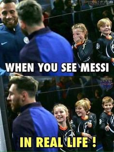 Reakcja dzieci, które zobaczyły Lionela Messiego na żywo • Kiedy zobaczysz Messiego w prawdziwym życiu • Wejdź i zobacz więcej #messi #lionelmessi #futbol #soccer #football #sports #pilkanozna