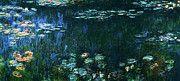 "New artwork for sale! - "" Claude Monet - Water Lilies Green Reflection Left Half 1926 by Claude Monet "" - http://ift.tt/2lobWNX"