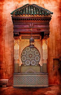 Islamic Art and Architecture~ Morocco By janoimagine