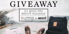 DJI Mavic Pro and a Brevite Camera Backpack giveaway! via @Brevitedesign @Lumoidit