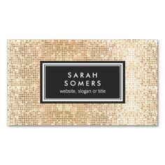Gold Sparkly FAUX Sequin Beauty Salon Black Emblem Business Card Templates created by sm_business_cards. This design is available on several paper types and is totally customizable. Fashion Business Cards, Beauty Business Cards, Gold Business Card, Salon Business Cards, Hairstylist Business Cards, Makeup Artist Business Cards, Business Card Design, Business Ideas, Logo Minimalista