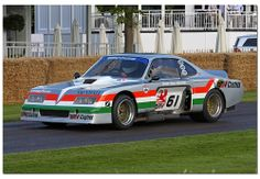 "1975 Vauxhall Firenza ""Baby Bertha"" Goodwood Festival of Speed 2012"
