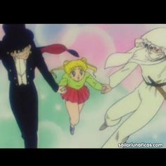 Day 25: One of the funniest sailor moon moments is when Serena daydreams about Moonlight Knight & Tuxedo Mask. However little does she know they are the same person