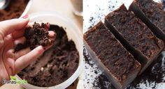 Sapunul din ZAŢ de CAFEA face minuni impotriva celulitei. REŢETA simpla Soap Recipes, Soap Making, Deodorant, Diy Beauty, Home Remedies, Diy And Crafts, Homemade, Desserts, Food