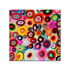 """Trademark Fine Art 14 in. x 14 in. """"Tourbillons"""" by Sylvie Demers Printed Canvas Wall Art - The Home Depot Abstract Canvas Art, Artist Canvas, Abstract Print, Canvas Wall Art, Canvas Prints, Art Prints, Abstract Paintings, Polka Dot Art, Tourbillon"""