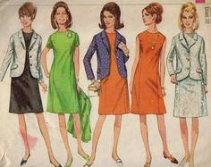 1960s Vintage Sewing Pattern Simplicity by historicallypatterns, $6.00