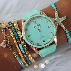 Love this Tiffany Blue Watch