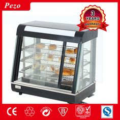 PEZO Restaurant used stainless steel food warmer display, electric counter top food warmer