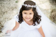 my daughter's photo shoot for First Communion-Amazing!