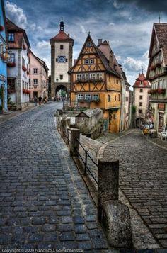 Rothenburg, Germany by minerva