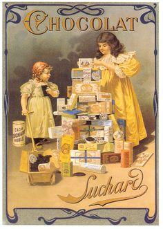 Vintage Ads : Reclaim Chocolat Vintage Advertising Campaign Reclaim Chocolat Advertisement Description Reclaim Chocolat Sharing is love ! Vintage Prints, Éphémères Vintage, Images Vintage, Vintage Labels, Vintage Ephemera, Vintage Pictures, Vintage Cards, Vintage Postcards, Poster Retro