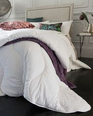 By investing in a temperature-regulating duvet, you'll be investing in a calming and restorative night's sleep. Pair it with our Breathe Pillow to keep your cool from head to toe. http://www.thefabulousfabriccompany.ie/all-fabulous-fabrics-products/micro-down-duvet-135-tog