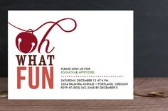 Oh What Fun by Frooted Design at minted.com