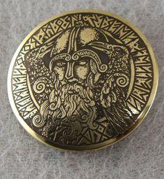 Boucle de ceinture en laiton Odin par ElvenTechnology sur Etsy Boucle De  Ceinture, Laiton, cb55b38b6ff