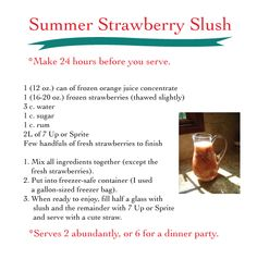 Pars Caeli: Summer Strawberry Slush